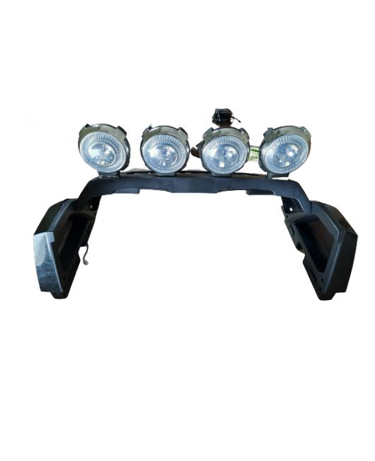 Svetlá pre elektrické autíčko Long čierne