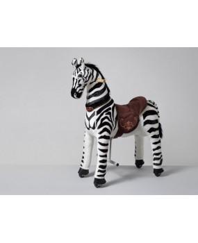 Mechanická jazdiaca zebra Ponnie Dixi M