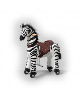 Mechanická jazdiaca zebra Ponnie Dixi S