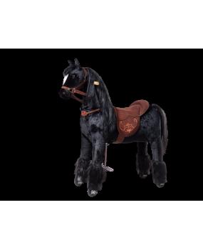Mechanický jazdiaci kôň Ponnie Ebony M