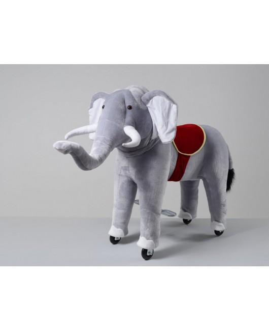 Mechanický jazdiaci slon Ponnie Bimbo M