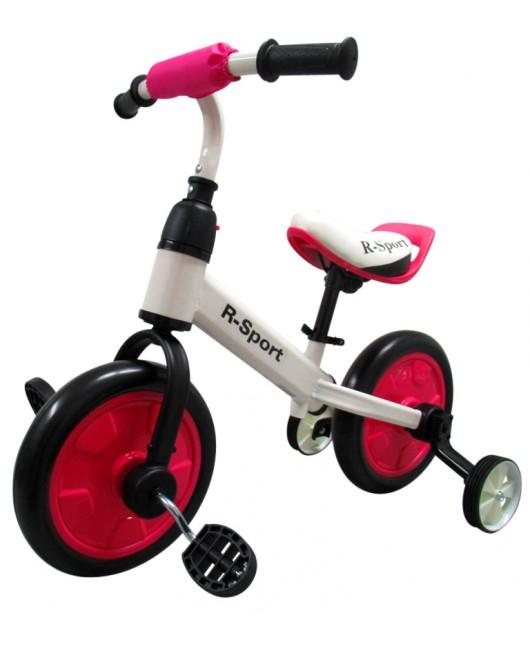 Detské odrážadlo R-Sport P1 3v1 ružové