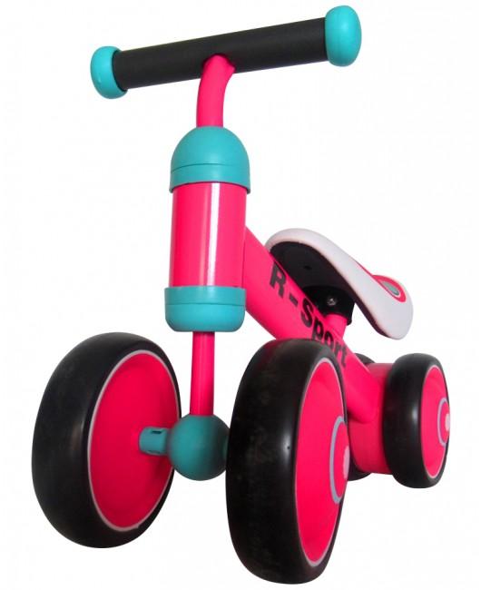 Detské odrážadlo R-Sport R12 ružové