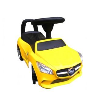 Detské odrážadlo auto J2 žlté