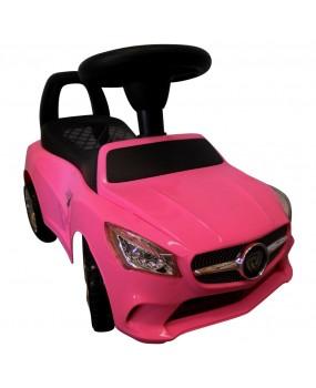 Detské odrážadlo auto J2 ružové