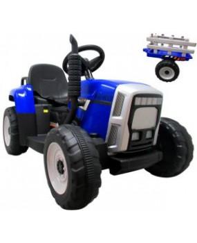Elektrický traktor s vlečkou R-Sport C1 modrý