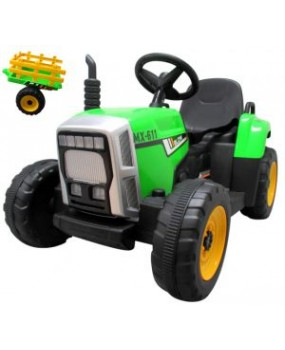 Elektrický traktor s vlečkou R-Sport C1 zelený