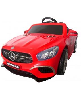 Elektrické autíčko Mercedes AMG SL63 červené