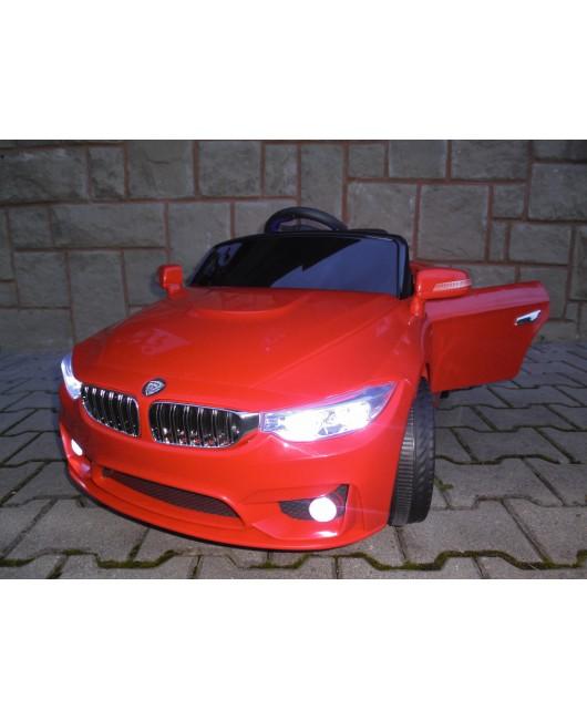 Elektrické autíčko Cabrio B8 červené