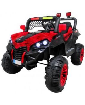 Elektrická bugina Buggy X7 4x4 lakovaná červená