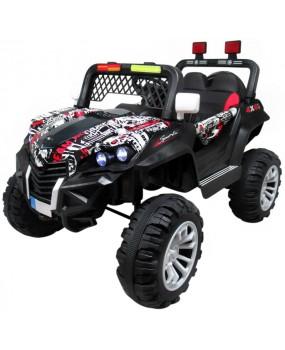 Elektrická bugina Buggy X7 4x4 lakovaná čierna