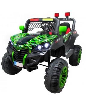 Elektrická bugina Buggy X7 4x4 lakovaná zelená