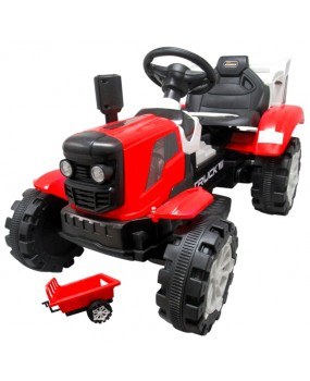 Elektrický traktor s vlečkou R-Sport C2 červený