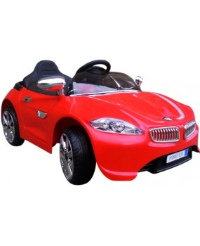 Elektrické autíčko Cabrio B3 červené