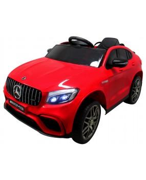 Elektrické autíčko Mercedes GLC63s červené