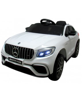 Elektrické autíčko Mercedes GLC63s biele
