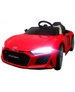 Elektrické autíčko AUDI R8 Sport červené