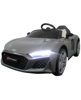 Elektrické autíčko AUDI R8 Sport šedé