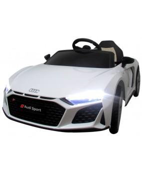 Elektrické autíčko AUDI R8 Sport biele