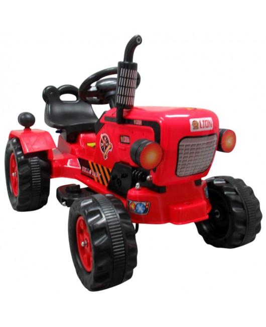 Elektrický traktor C5 červený