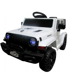 Elektrické autíčko Cabrio Jeep F3 biele