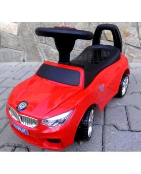 Detské odrážadlo auto J6 červené