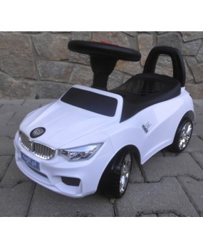 Detské odrážadlo auto J6 biele