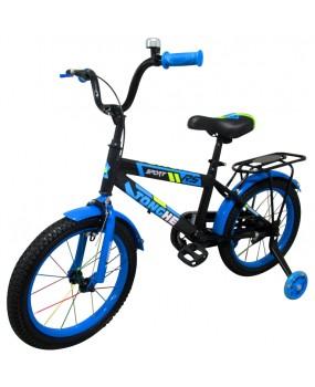 """Detský bicykel P7 16"""" kolesá modrý"""