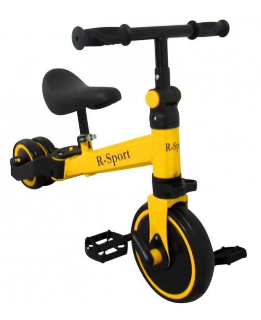 Detská trojkolka R-Sport P8 4 v 1 žltá