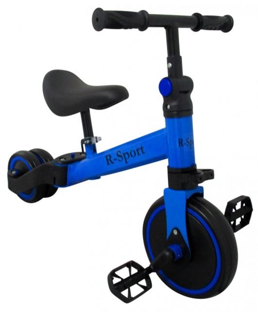 Detská trojkolka R-Sport P8 4 v 1 modrá