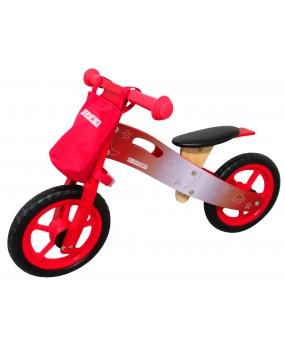 Detské drevené odrážadlo R-Sport R10 červené
