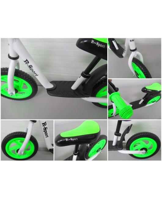 Detské odrážadlo R5 R-Sport bielo-zelené
