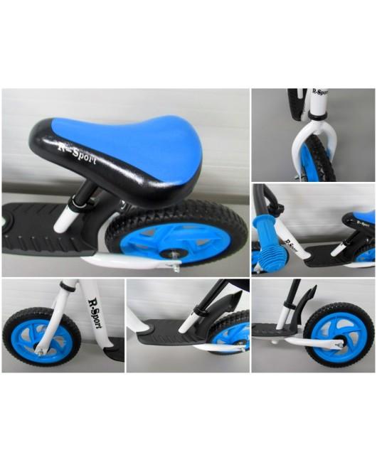 Detské odrážadlo R5 R-Sport bielo-modré