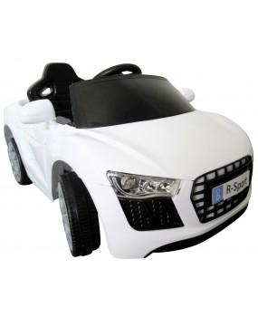 Elektrické autíčko Cabrio AA4 s hojdaním biele