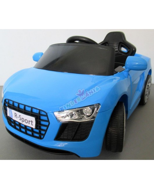 Elektrické autíčko Cabrio AA4 s hojdaním modré