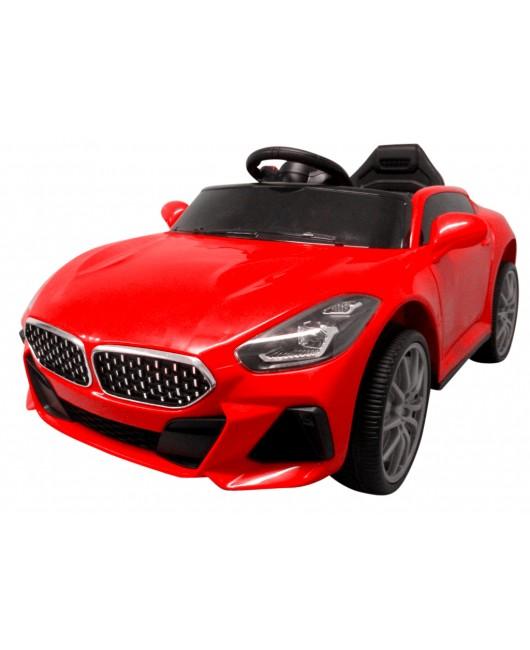 Elektrické autíčko Cabrio AA6 s hojdaním červené