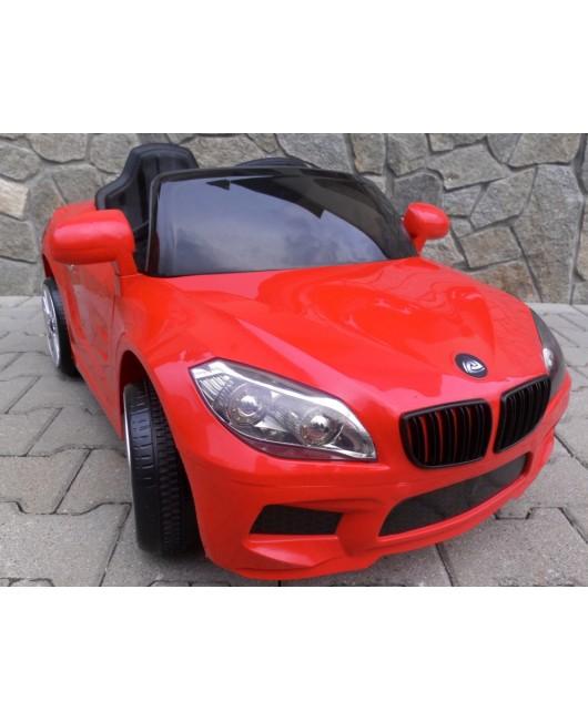 Elektrické autíčko Cabrio B14 červené