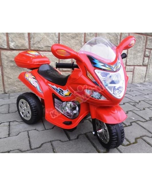 Elektrická motorka BJX 088 červená