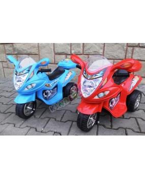 Elektrická motorka BJX 088 modrá
