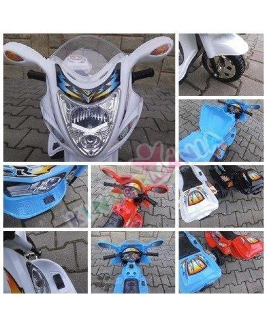 Elektrická motorka BJX 088 zelená