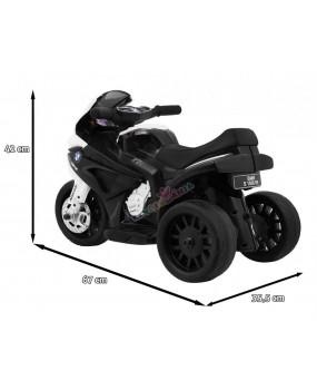 Elektrická motorka BMW S 1000 RR 6V čierna