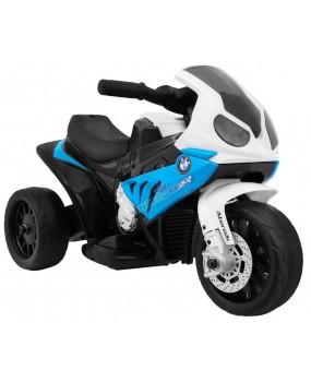 Elektrická motorka BMW S 1000 RR 6V modrá