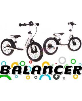 Detské odrážadlo Sportrike Balancer biele