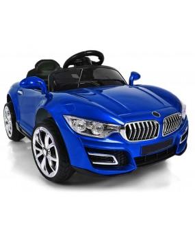 Elektrické autíčko Cabrio B16 modré lakované