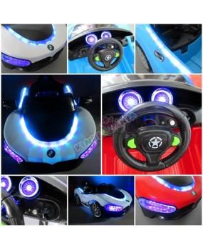 Elektrické autíčko Cabrio MA modré
