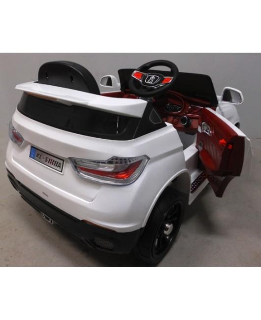 Elektrické autíčko Cabrio X6 biele EVA kolesá