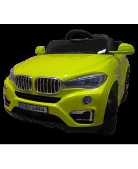 Elektrické autíčko Cabrio X6 zelené EVA kolesá