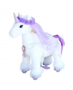 Poník Purple Unicorn s doplnkami - malý