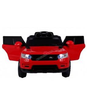 Elektrické autíčko Start Run červené EVA kolesá