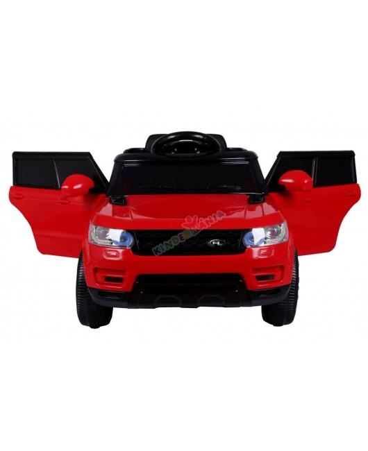 Zánovné elektrické autíčko Start Run červené EVA kolesá